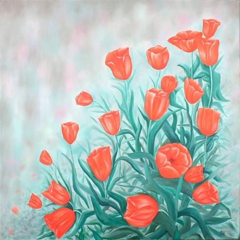 Çiçek Tabloları görseli