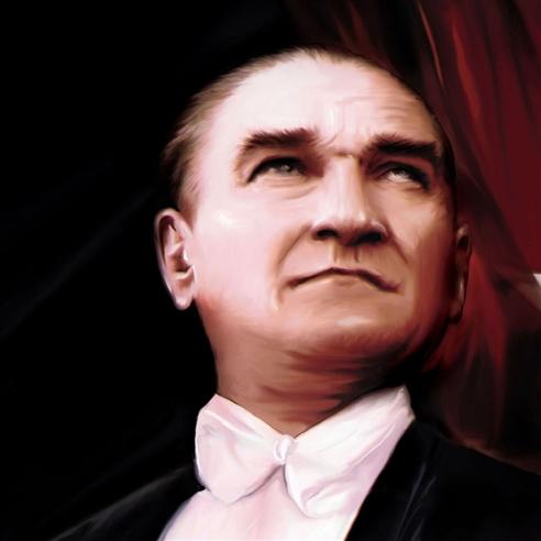 Türkiye Tarihi ve Atatürk görseli