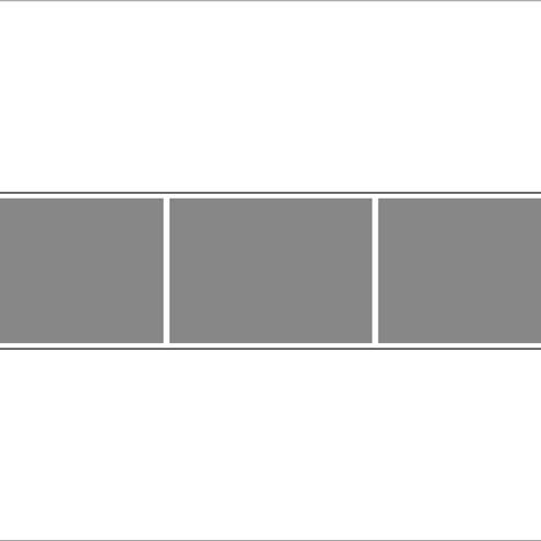 Panaroma 3/1 Mozaik Tablo 3 lü görseli.