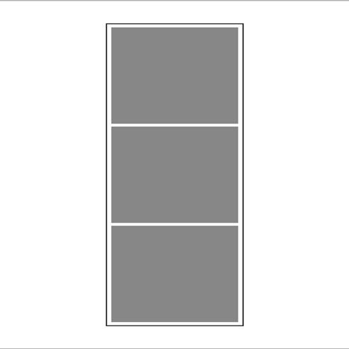 Vertica 3/1 Mozaik Tablo 3 lü görseli.