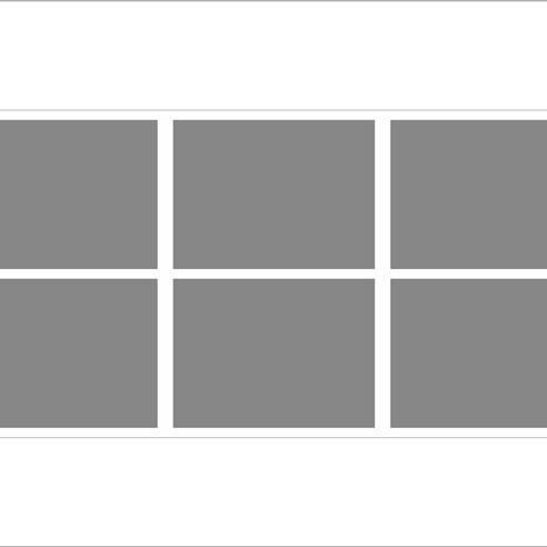 Yatay Mozaik Tablo 6 lı görseli.