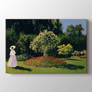 Jeanne Marguerite Lecadre Bahçede görseli.