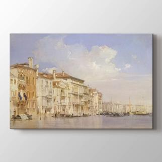 Grand Kanal Venedik  görseli.