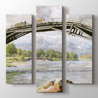 Köprü ve Dağlar görseli.