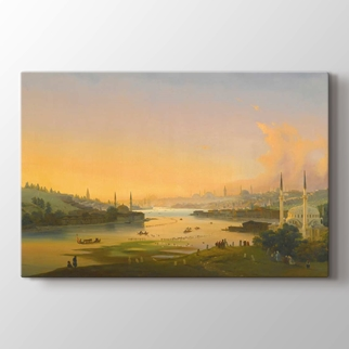 Sunrise Over the Golden Horn görseli.