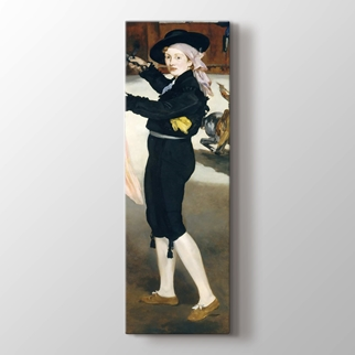 Victorine Meurent İspanyol Kıyafeti İçinde  görseli.