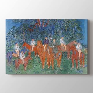 The Kessler Family on Horseback görseli.