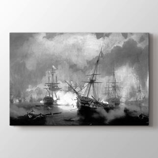 Navarino Deniz Savaşı görseli.
