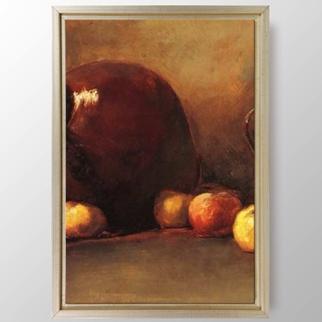 Still Life Jug With Fruit  görseli.