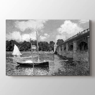 The Bridge at Argenteuil görseli.