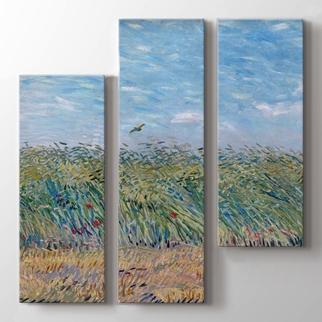 Wheatfield With Partridge  görseli.