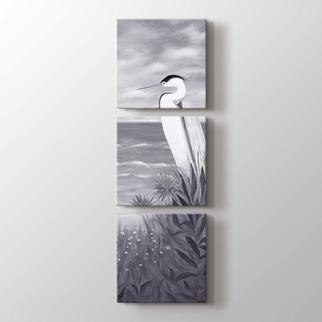 Orkideler ve Kuş görseli.