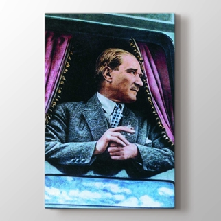Atatürk'ün Trenle Yolculuğu görseli.