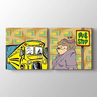 Otobüs Durağı  görseli.