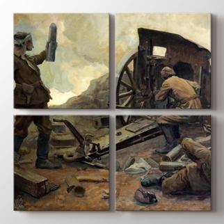 Kurtuluş Savaşında Topçular görseli.