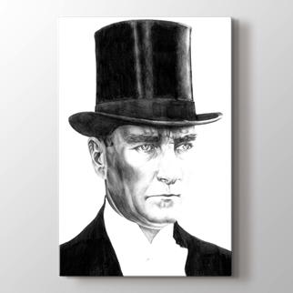 Atatürk Karakalem görseli.