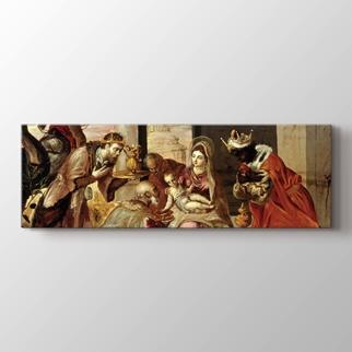Üç Müneccimin Tapınması görseli.