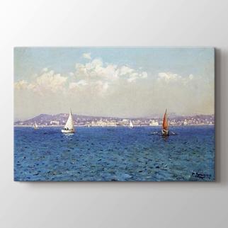 Blick Auf Die Französische Riviera görseli.