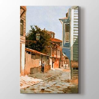 Üsküdar'da Bir Sokak görseli.