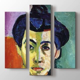 Portrait of Madame Matisse görseli.