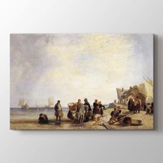 Fransız Sahilleri ile Balıkçılar  görseli.