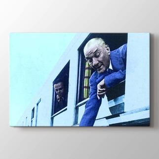 Atatürk'ün Tren Yolculuğu görseli.