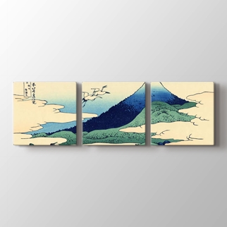 Lakes Hakone and Waves  görseli.