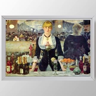Folies Bergere'de bir bar görseli.