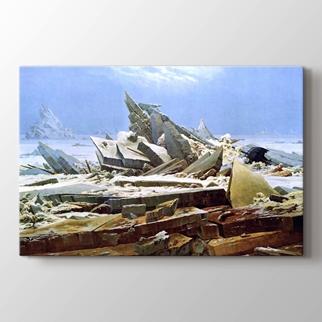 Buzda Gemi Enkazı görseli.