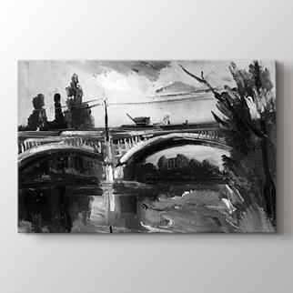 The bridge at chatou  görseli.
