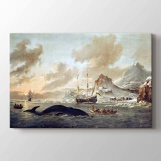 Kıyı Yakınında Balinacılar görseli.