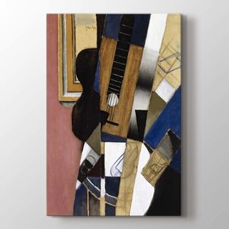gitar ve pipo  görseli.