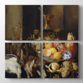 Still Life With Fruit and Game  görseli.