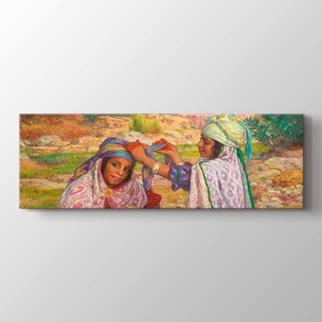 Küçük Arap Kızları görseli.