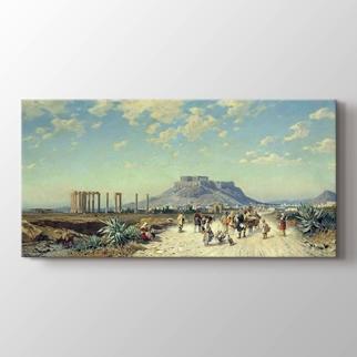 Akropolis Atina  görseli.