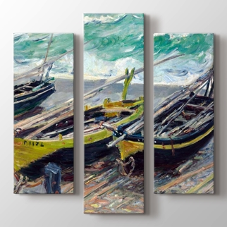 Üç Balıkçı Teknesi görseli.