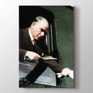 Atatürk Kütahya Seferi görseli.