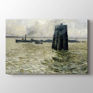 Hamburg Limanı görseli.