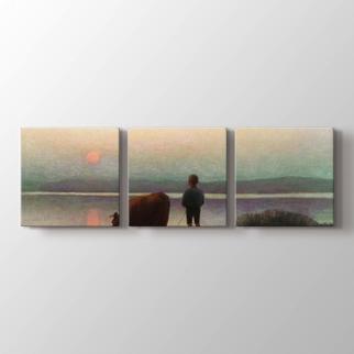 Esrum Gölü görseli.