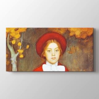 Kırmızılı Kız  görseli.