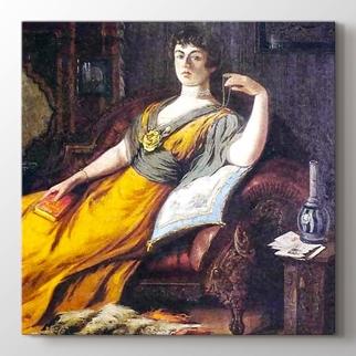 Haremde Goethe görseli.