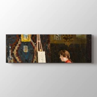 Ressam Kız Atölyesi görseli.