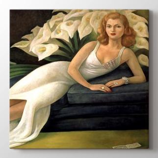 Portrait of Natasha Gelman görseli.