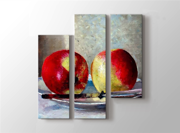 Tabakta İki Elma