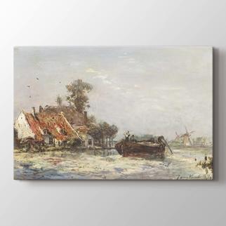 Rotterdam Yakınlarındaki Nehir  görseli.