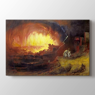 Sodom ve Gomora'da Tahribi görseli.