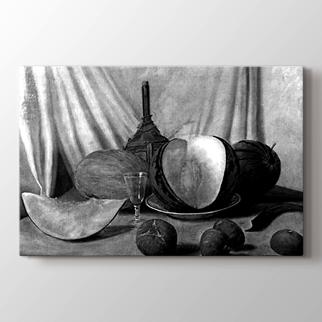 Kavun ve incirler görseli.