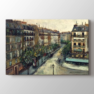 Rue Custine a Monmartre  görseli.