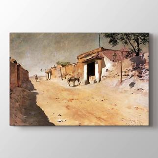 Bir İspanya Köyü görseli.