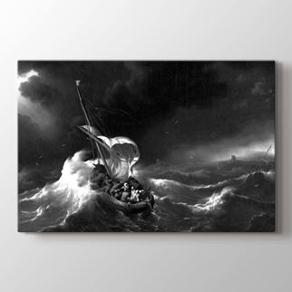 Deniz'de Fırtına görseli.
